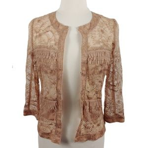 ATOS LOMBARDINI Women's Blazer In Pale Pink
